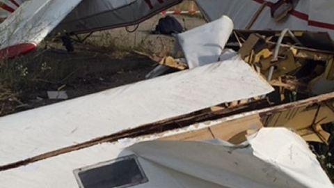 Darabjaira hullott a Tökölön lezuhant vitorlázógép – fotók