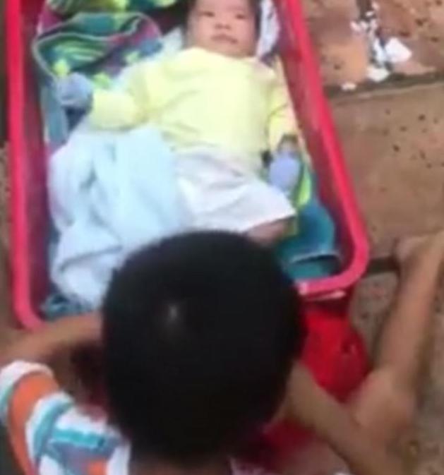 El se mozdult kéthónapos öccse mellől a kisfiú, miután anyjuk sorsára hagyta őket