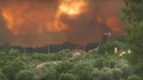 Erdőtűz Portugáliában: háromnapos nemzeti gyász jön