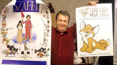 90 éve született Dargay Attila, a Vuk és a Szaffi rendezője