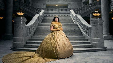 Így néznének ki a Disney-hercegnők méltóságteljes királynőként