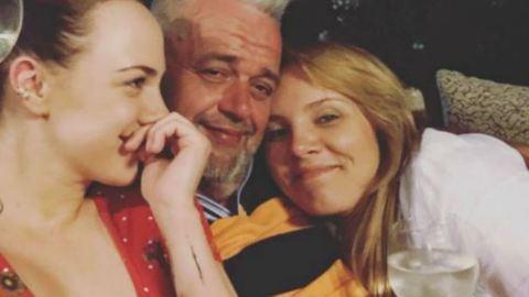 Tóth Vera és Tóth Gabi ugyanazt a férfit öleli