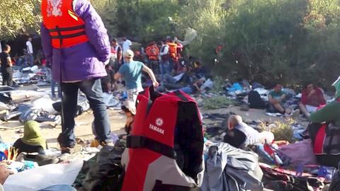 Lefilmezte útját a szír menekült tini – videó