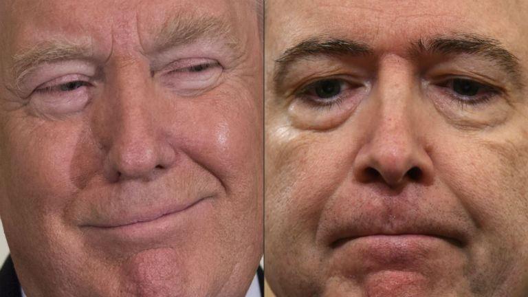 Trump csak szórakozott: nincsenek is felvételei a kirúgott FBI-vezetőről