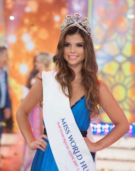 Viczián Viktória a Magyarország Szépe versenyen elnyerte a közönség díját és a Miss World Hungary első udvarhölgye címet is