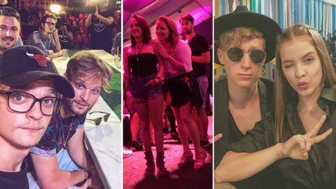 VOLT fesztivál első napján Palvin Barbi és a Tóth-lányok is jól mulattak