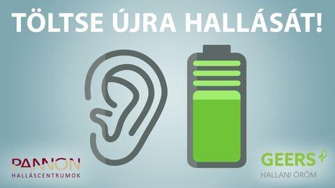 Kivételes hallás egész napon át újratölthető hallókészülékkel