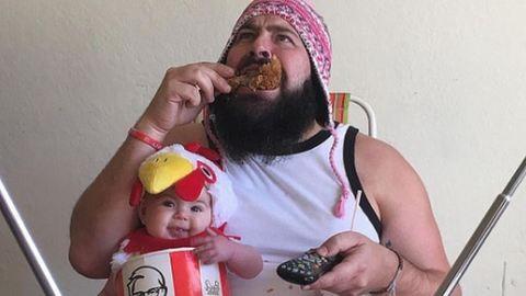Ez az apa és babája az Instagram új sztárja