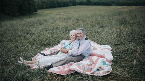 Nem lesz ma már cukibb a hetvenéves házasok fotóinál