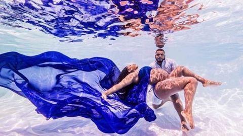 Egy emberként rajong a net ezért a káprázatos, víz alatti terhesfotóért