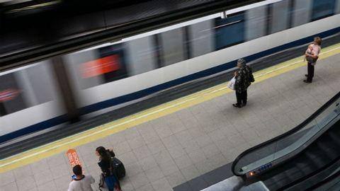 Láthatatlan metrószerelvény közlekedett Madridban