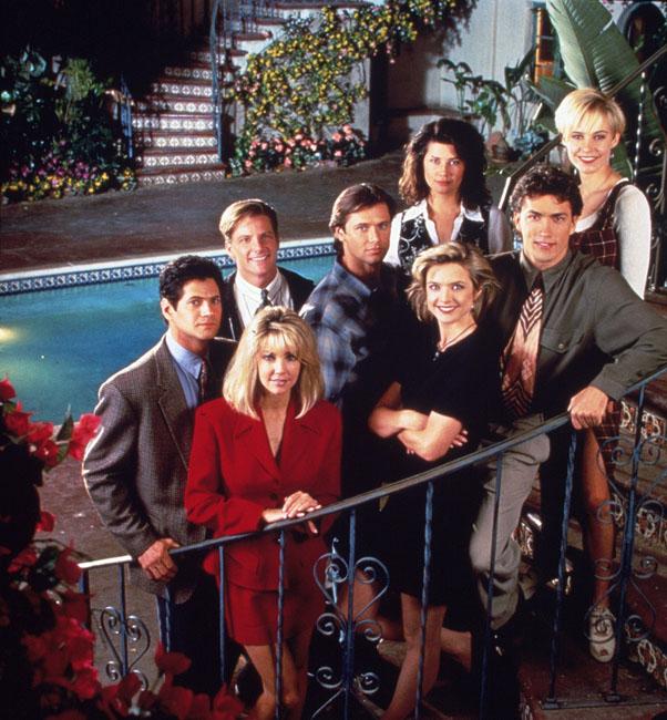 A Melrose Place szereplői (Fotó: Profimedia)