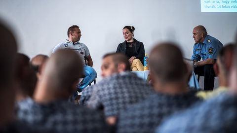 Előbb esem kómába, mint hogy feladjam – börtönlakóknak mesélt a legkeményebb magyar sportoló