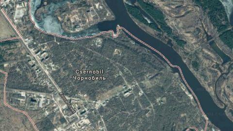 Óriási területen ég Csernobil
