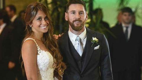 Megnősült Messi – fotók