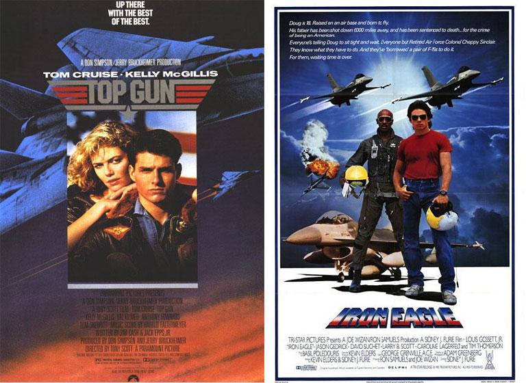 Nagyon amerikaiak, nagyon pilóták, nagyon hasonlóak (Fotó: Tumblr)