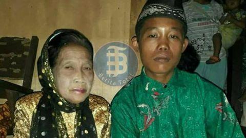 Nagymamát vett feleségül a tini