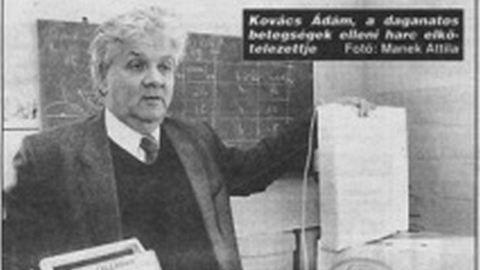 Meghalt Kovács Ádám