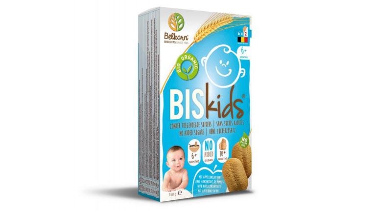 """""""Belkorn"""" Biskids Bio almás ízű babakeksz"""