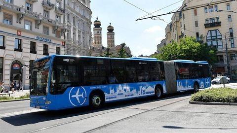 Ma már busszal mehetsz a reptérre