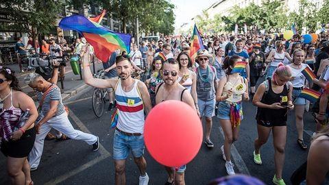 Történelmi nap a szombati: nem történt semmi a Budapest Pride-on