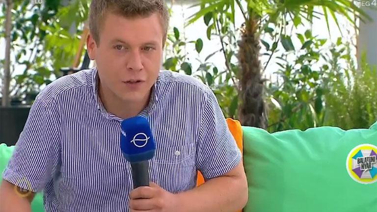 Bencze Péter a Balatoni Nyárban magyarázkodott