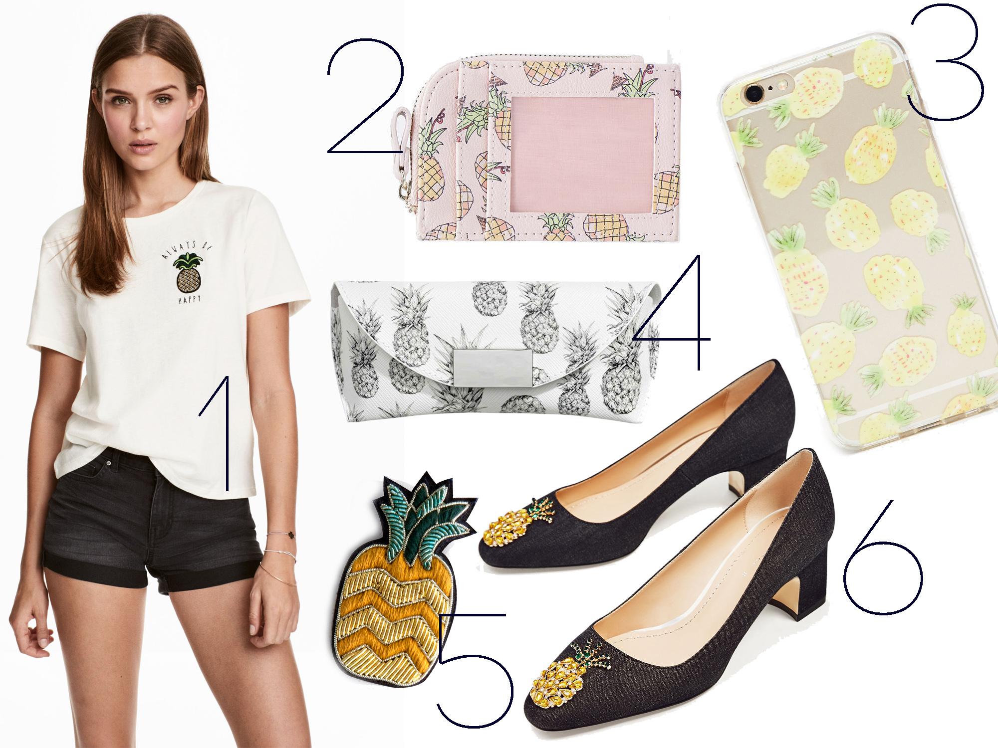 Ananász a testeden - avagy 17 ruhadarab a nyár legdivatosabb gyümölcsével