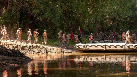 A honvédség védi a vizes VB-t