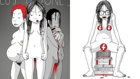 Brutálisan őszinte rajzaival veri ki a biztosítékot a feminista grafikus