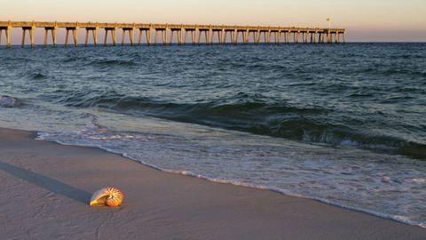 80 strandoló alkotott élőláncot, hogy kimentsenek egy családot a vízből