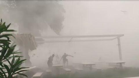 Brutális vihar csapott le Siófokra – videó