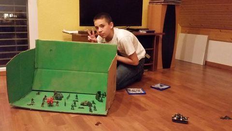 Egy 12 éves srác LEGO-ból készített klipet egy magyar együttesnek