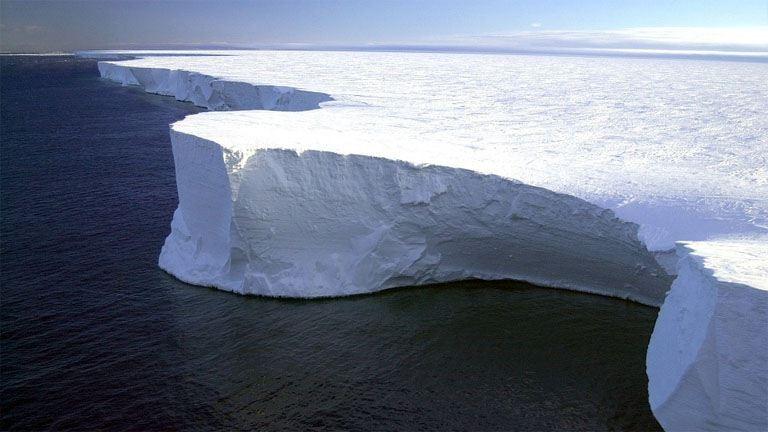 Békés megyényi jégtömb szakadt le az Antarktiszról