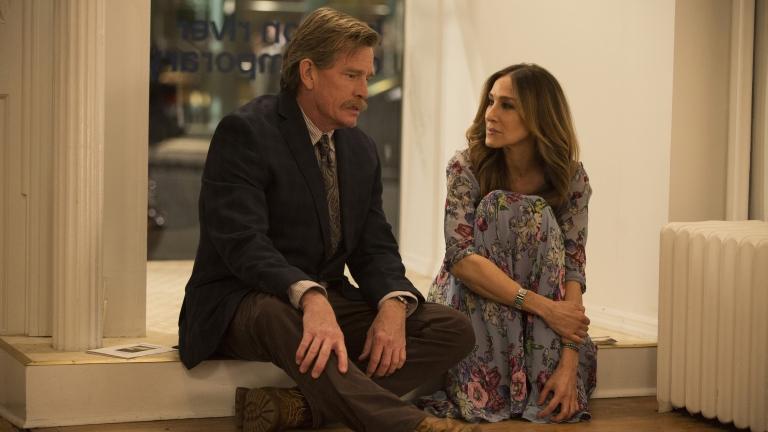 Thomas Haden Church és Sarah Jessica Parker a Divorce című sorozatban