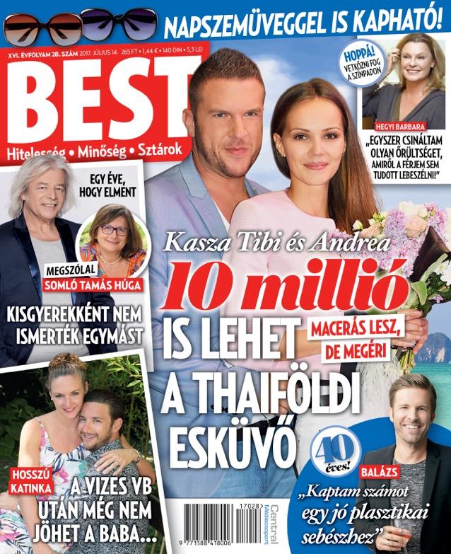 10 milliós esküvőt tervez Kasza Tibi