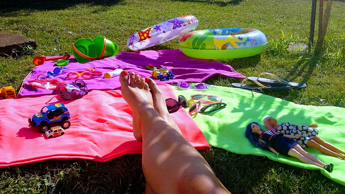 Egy évszak cipő nélkül, avagy így nyaralok egyedül három gyerekkel