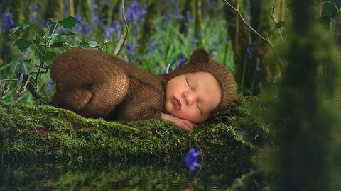 Egy anya csodálatos újszülött fotói az élet csodáját ünneplik