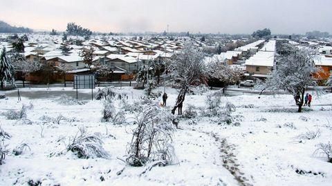 Elképesztő! Havazik Chilében