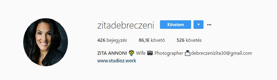 Gianni újra elvette feleségül Debreczeni Zitát