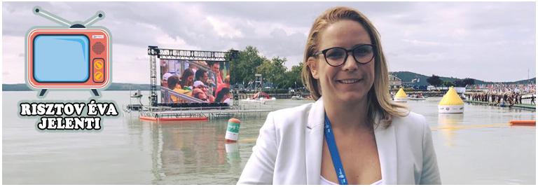 FINA 2017: Risztov Éva exkluzív a vizes vb balatonfüredi versenyéről