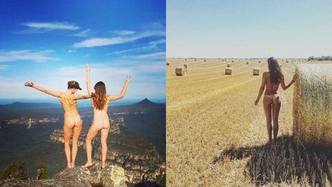 Popsivillantás a világ körül – újabb képek a pucérkodós Instagram oldalról