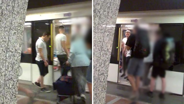 Gyanútlan férfira támadtak a pesti aluljáróban, őket keresi a rendőrség