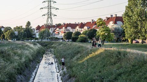 Budapest legjobb és legszörnyűbb helye egy patakpart