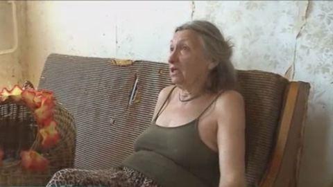 Beteg lányával együtt lakoltatták ki az idős asszonyt