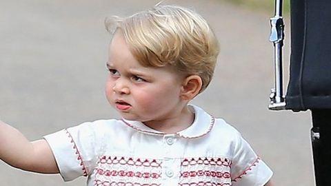 10 fotó, ami bebizonyítja, hogy a kis György hercegnél nincs durcásabb totyogó