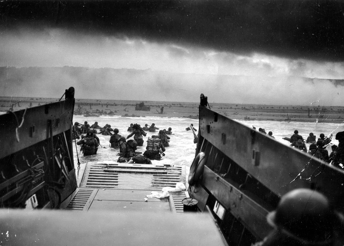 Fotó: Conseil Régional de Basse-Normandie / National Archives USA/Robert F. Sargent, US Coast Guards