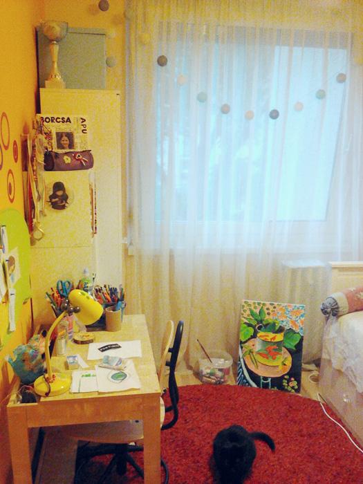 Egy anya szenvedései, aki 5 négyzetméteren szobát akar berendezni a kamasz lányának