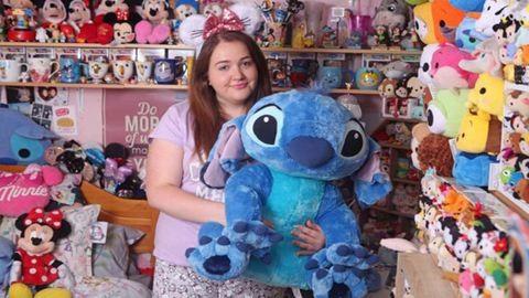 Egy vagyont költött Disney-mániájára a 21 éves lány