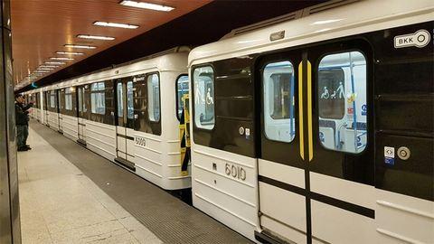 Szándékosan tehették a fakockát a metróajtó alá – fotó