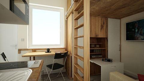 Csak 15 négyzetméter ez a lakás, de bármikor beköltöznénk